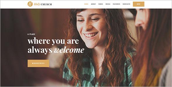 Fundraising Non Profit Blog Theme