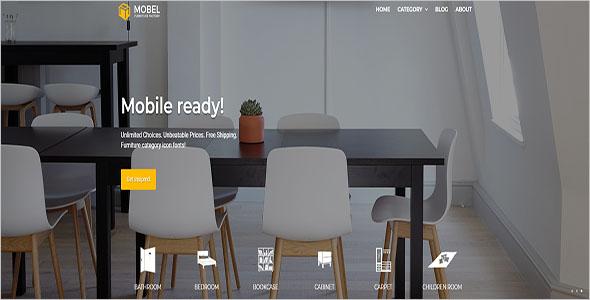 Furniture Blog Opencart Theme