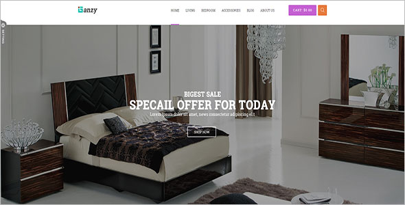 Furniture Blog Theme