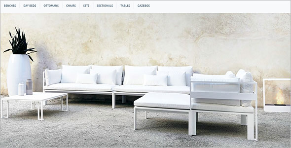 Furniture Bootstrap Responsive Template