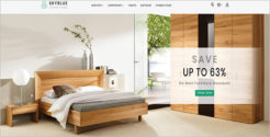 Furniture Collection Blog Theme