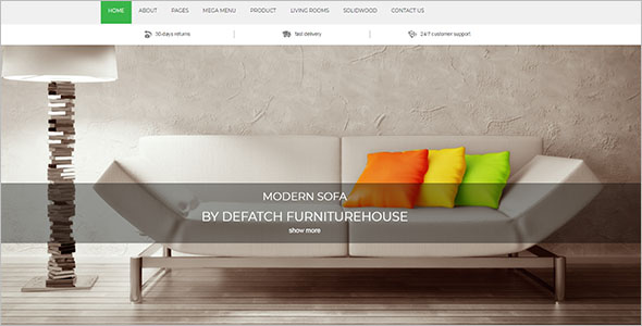Furniture House Magento Theme