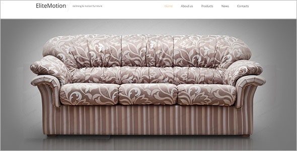 Furniture Responsive Bootstrap Template