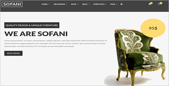Furniture Store HTML Template