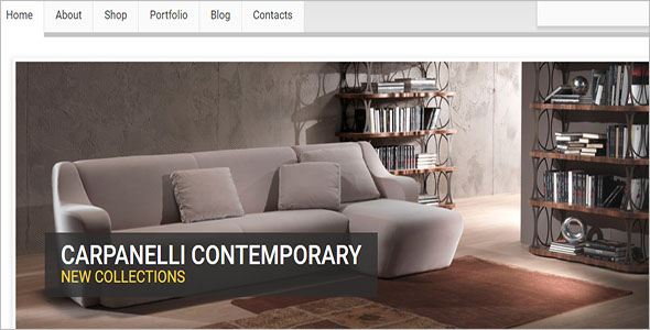 Furniture Template Bootstrap Theme