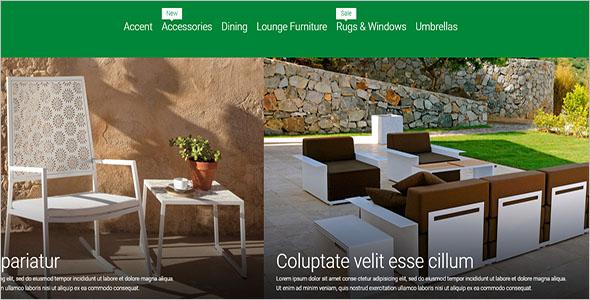 Garden Furniture Magento Template