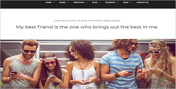 General Social Network Bootstrap Theme