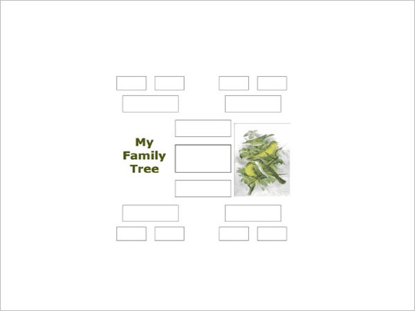 Generation Family Tree Format Template