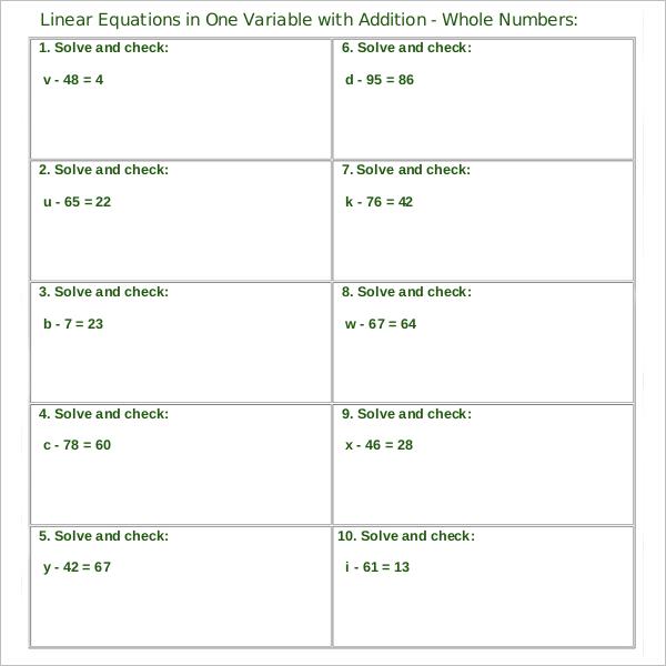 Grade Sheet Material Template