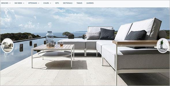 Garden Furniture Bootstrap Template