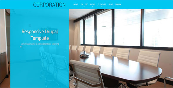Great Drupal Business Theme