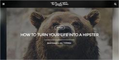 Grid Based Blog Template