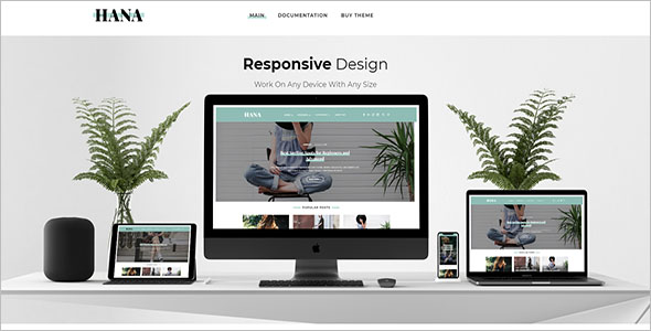Grid Blog Responsive Template