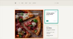 Grid Blog Template PSD