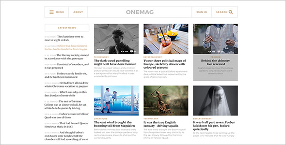 Grid Blog Theme Free Download