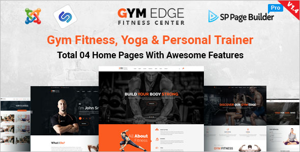 Gym Fitness Joomla Template