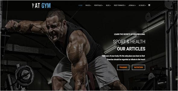 Gym Joomla Template