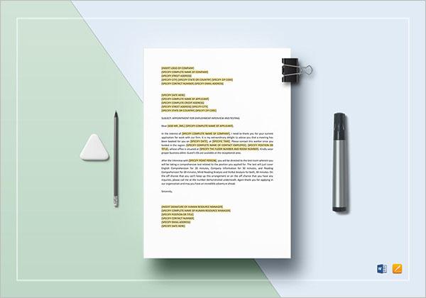 HR Document Template