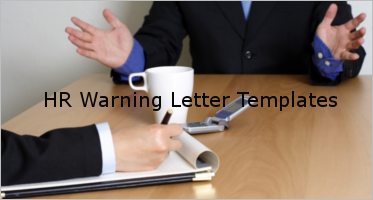 HR Warning Letter Templates