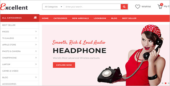 HTML Page Design Template