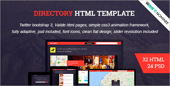 HTML Social Nework Bootstrap Theme