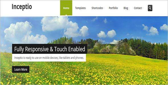 HTML Website Theme