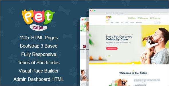HTML5 Admin Dashboard Template