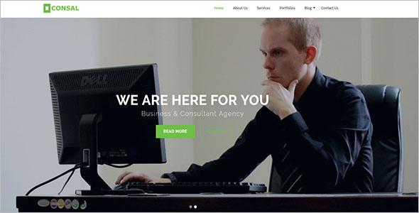 HTML5 Business WordPress Theme