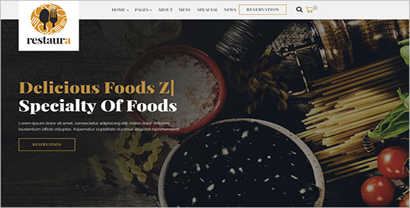 HTML5 Catering Website Template