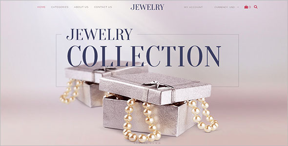 HTML5 Jewelry Bootstrap Template