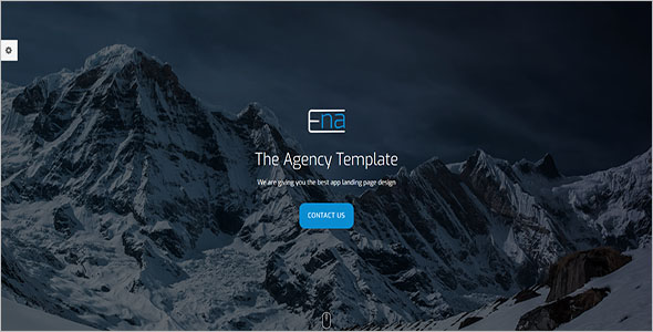 HTML5 Responsive Page Template