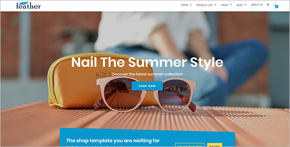 HTML5 Retail Bootstrap Template