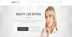 Hair Beauty Care Joomla Template