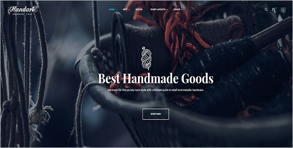 Handmade Jewellery Bootstrap Template