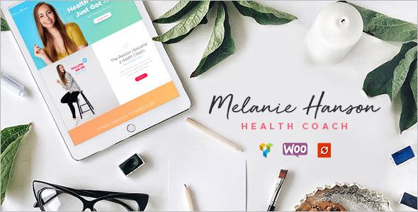 Health Coach Lifestyle Blog Theme