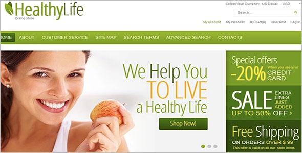 Health Magento WordPress Theme