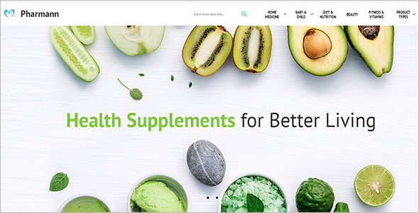 Healthy Life Magento Theme