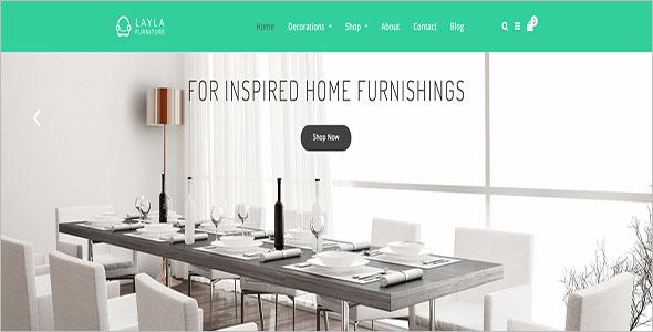 Home Furniture Blog Theme