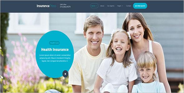 Home Insurance WordPress Theme