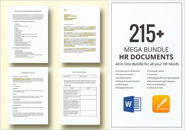 Human Resource Document & Template