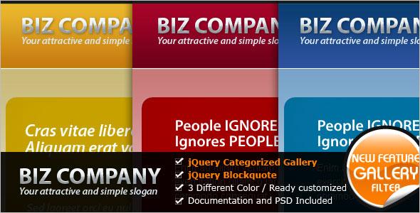 IT Company Website Template