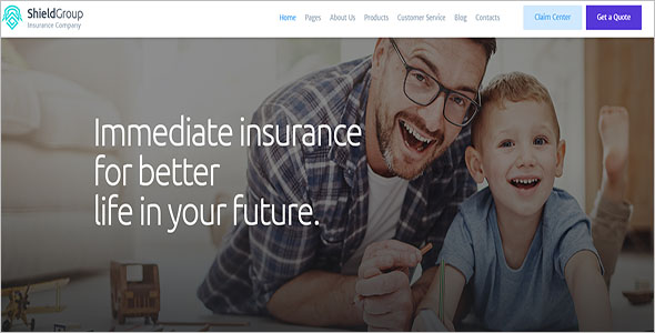 Insurance Consultation WordPress Theme