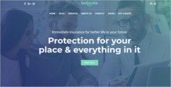 Insurance & Finance WordPress Theme