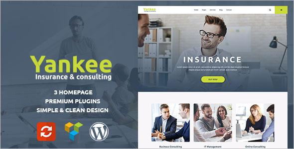Insurance Refund WordPreass Theme