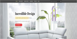 Interior Decoration Furniture Blog Theme
