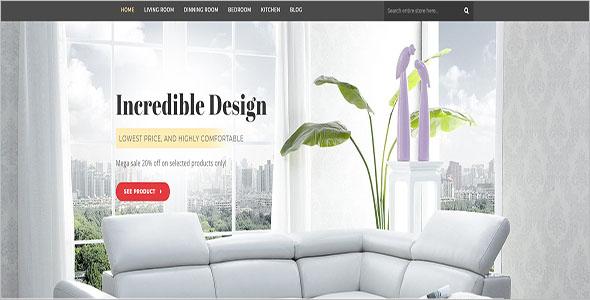Interior Decoration Furniture Blog Theme