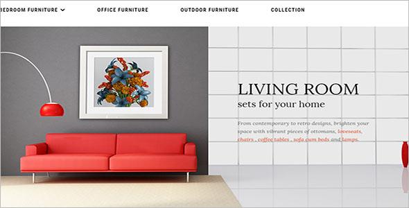 Interior Furniture Magento Theme