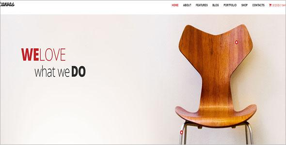 Interior Furniture Portfolio Theme