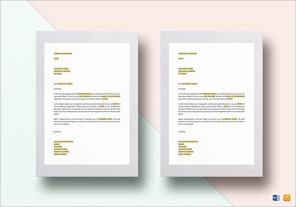 Invitation Letter To HR
