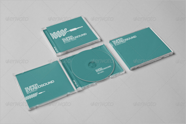 Jewel CD Case Template